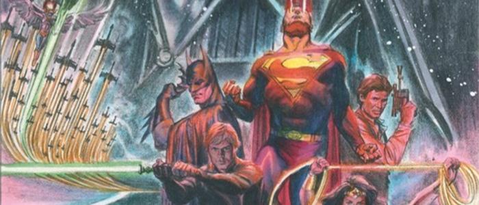 Star Wars and DC Comics Crossover - Alex Ross Artwork