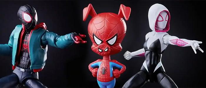 Marvel Legends Spider-Man: Into the Spider-Verse Figures
