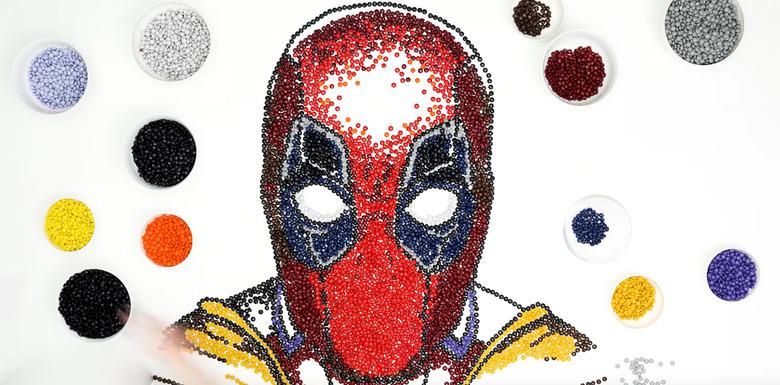 Deadpool M&M's Portrait