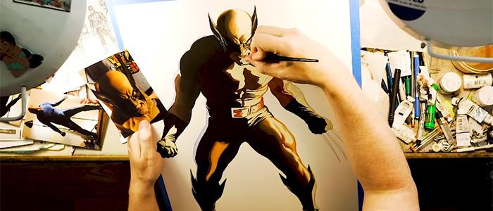 Alex Ross Paints Wolverine