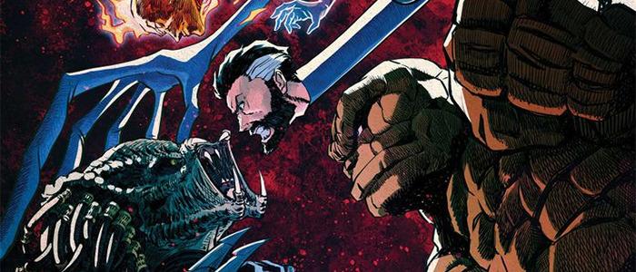 Predator vs Fantastic Four