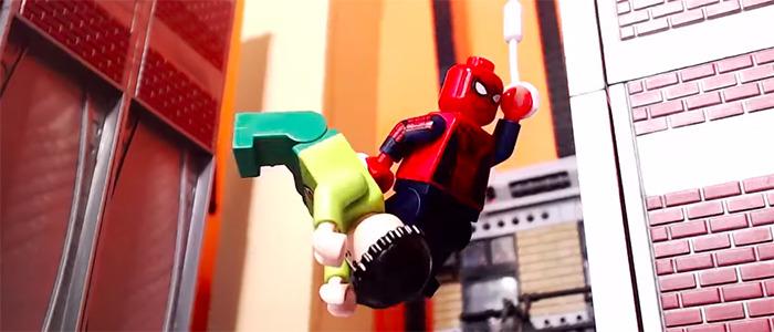 Japanese Spider-Man LEGO Stop-Motion Animated Short