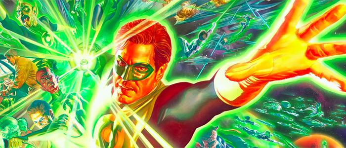 Alex Ross - Green Lantern Corps