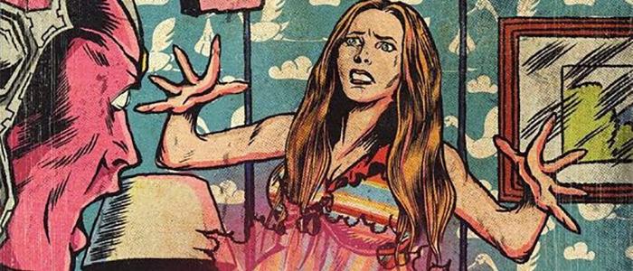 WandaVision - Vitnage Comic Artwork