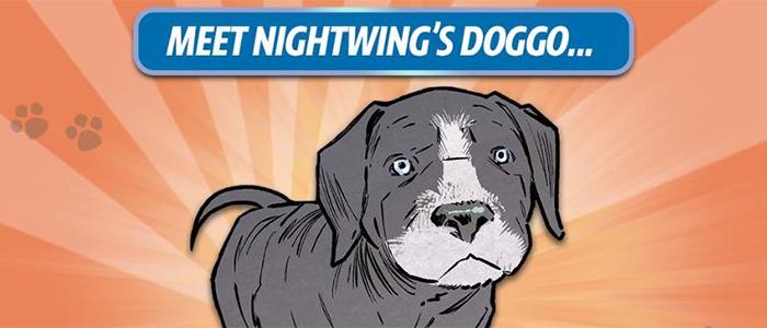 Nightwing's Dog Haley