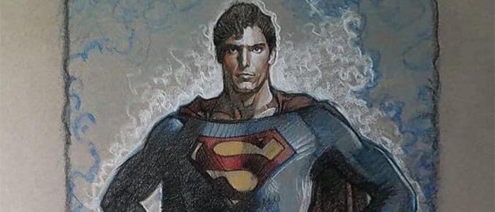 Superman - Drew Struzan Sketch