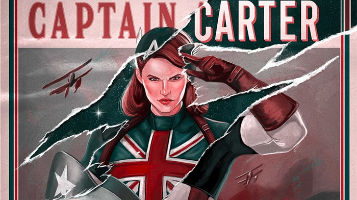 Marvel What If...? Captain Carter Poster
