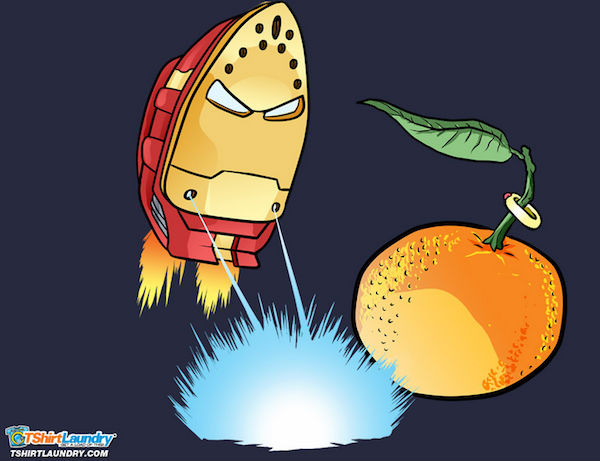 Iron Man vs Mandarin