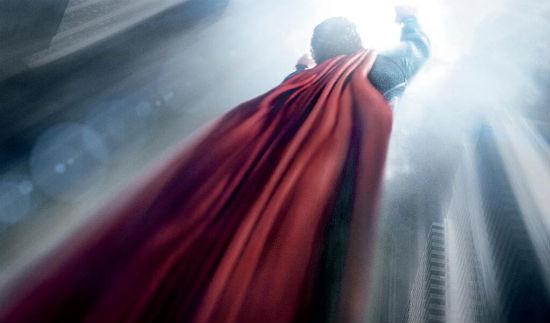 Man of Steel Poster Flight header