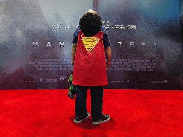 Man of Steel Red Carpet kid header