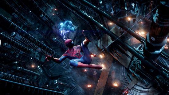 Amazing Spider-Man 2 electro fight 2