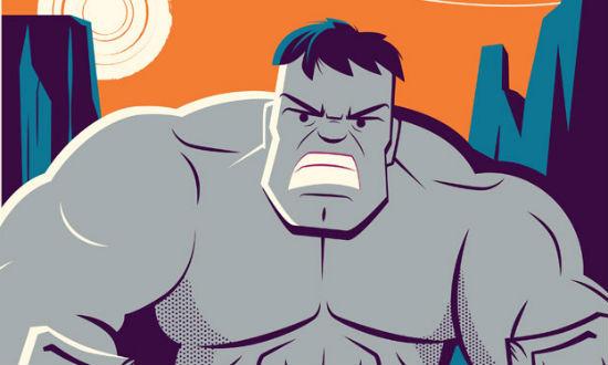 Dave Perillo - Incredible Hulk header