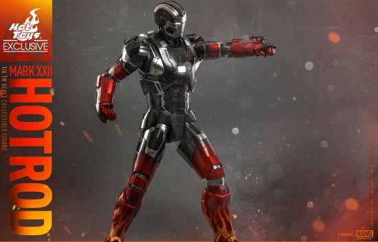 Hot Toys Hot Rod Iron Man 3 header