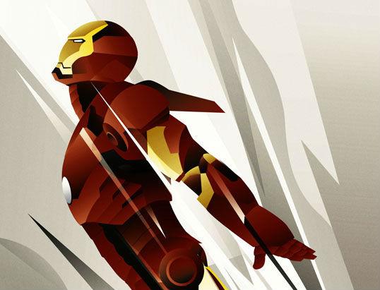 Art Deco Iron Man Rodolfo Reyes header