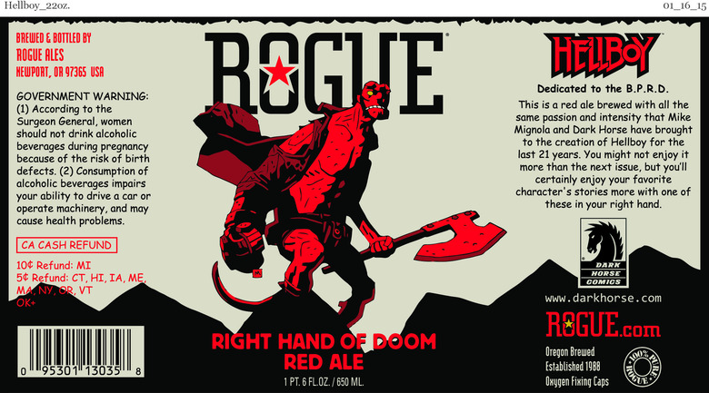 Hellboy Beer