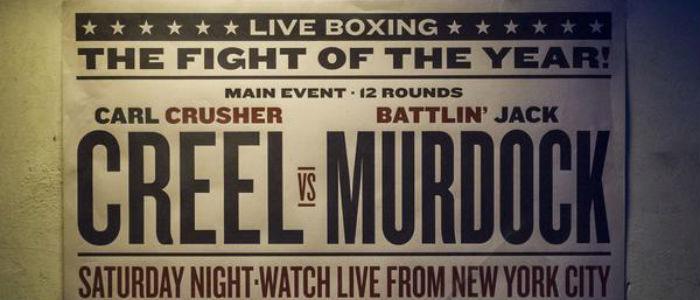 Daredevil Boxing Poster