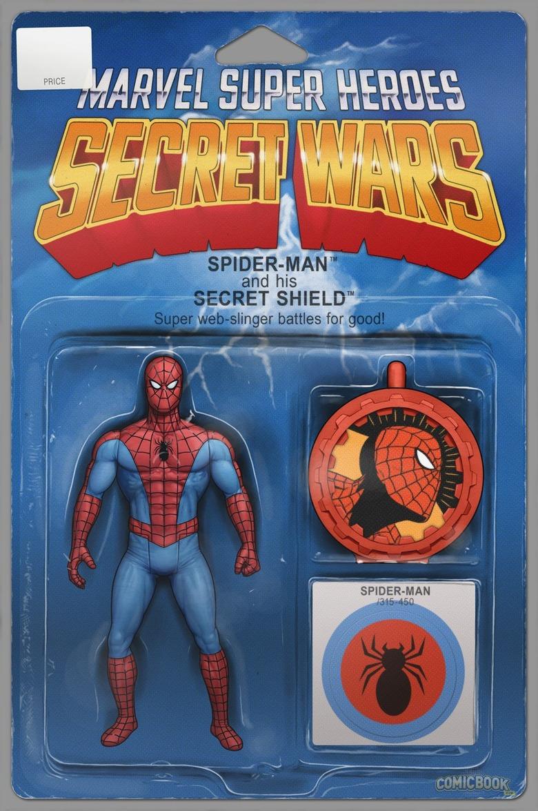 Secret Wars Variant Covers