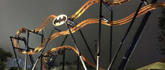 Batman Ride Six Flags Texas header