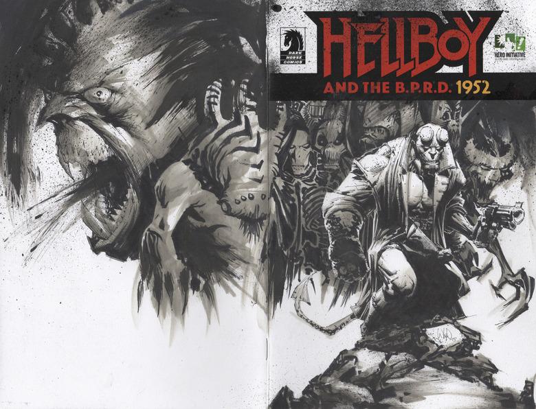 WHILCE-PORTACIO Hellboy 100