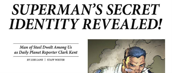Daily Planet Superman header