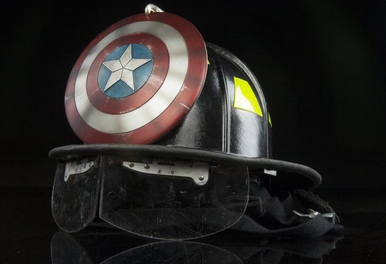 Captain America FDNY helmet