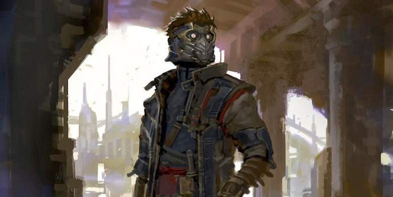 Guardians of the Galaxy - Star-Lord Alternate Design