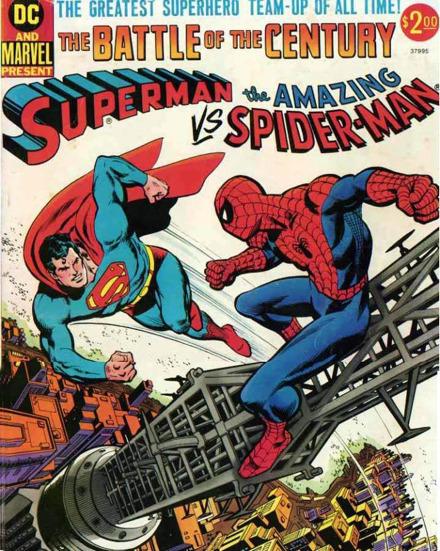 Superman vs. Spiderman