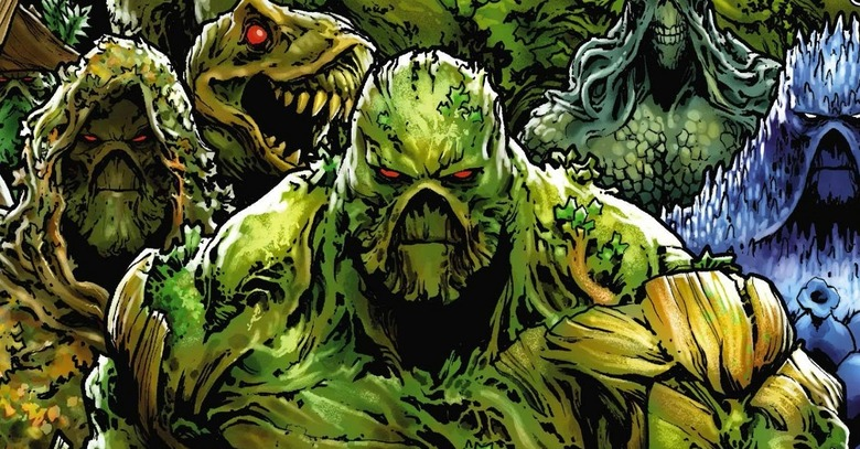 swamp thing cast