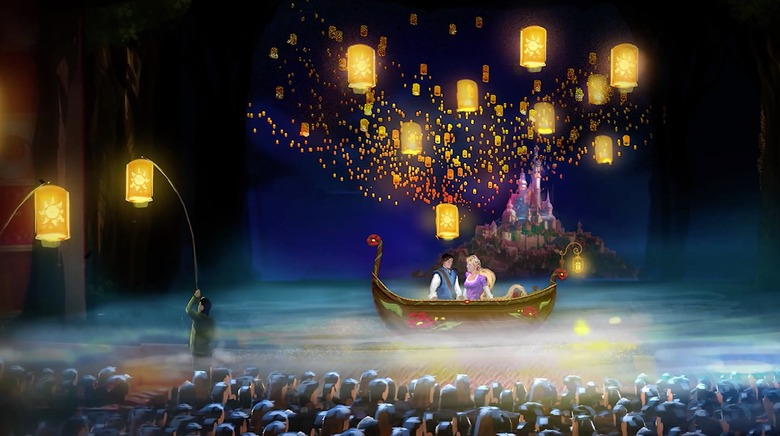Tangled: The Musical concept art