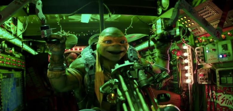 Teenage Mutant Ninja Turtles 2 Clip