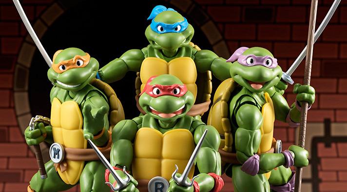 Teenage Mutant Ninja Turtles Action Figures