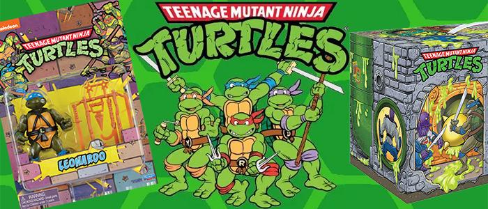 Teenage Mutant Ninja Turtles Playmates Action Figures Box Sets