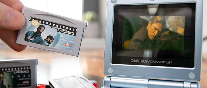 Tenet on a Game Boy Advance