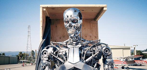 Terminator Genisys exoskeleton header