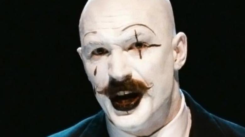 Tom Hardy White Face Paint Moustache Bronson