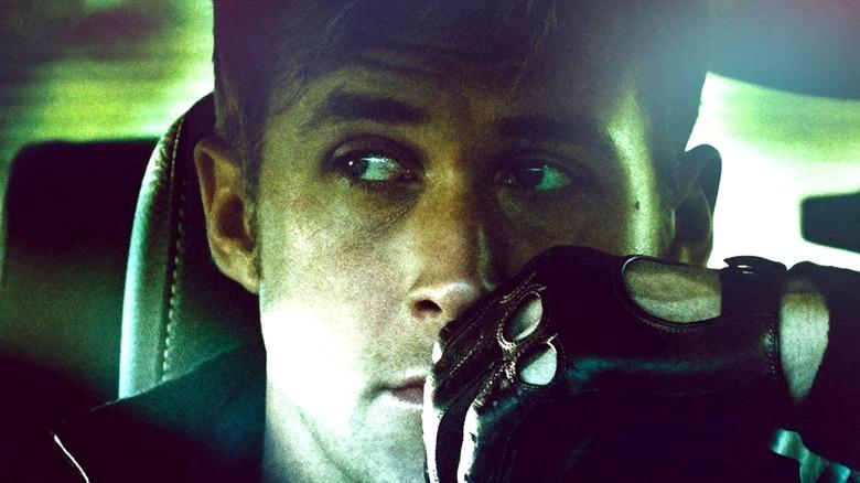 Ryan Gosling Drive glove steering wheel