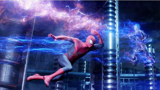 Amazing Spider-Man 2 Electro fight