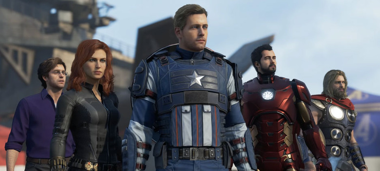 Avengers Video Game Footage