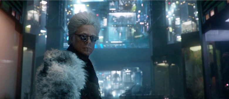 Benicia Del Toro as The Collector in Guardians of the Galaxy