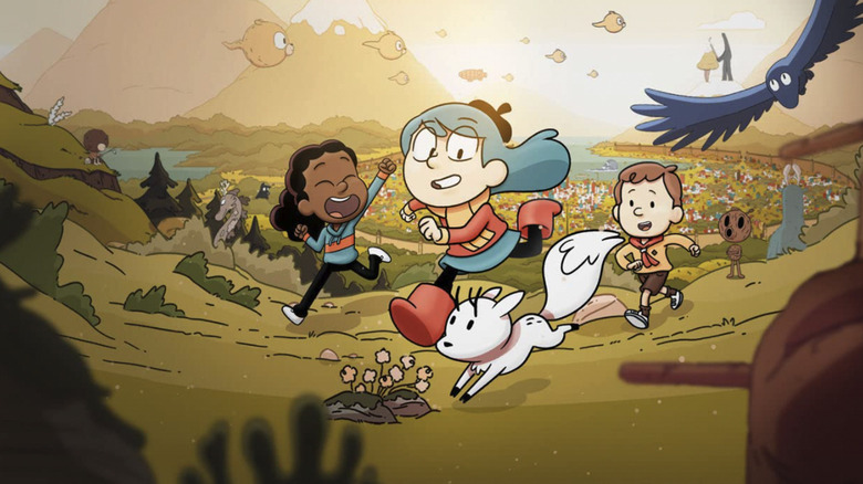 Hilda and her pals