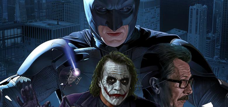 The Dark Knight Poster by Juan Carlos Ruiz Burgos