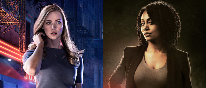 The Defenders Karen Page and Misty Knight