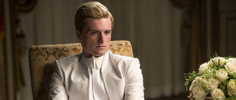 Josh Hutcherson in The Hunger Games Mockingjay Part 1