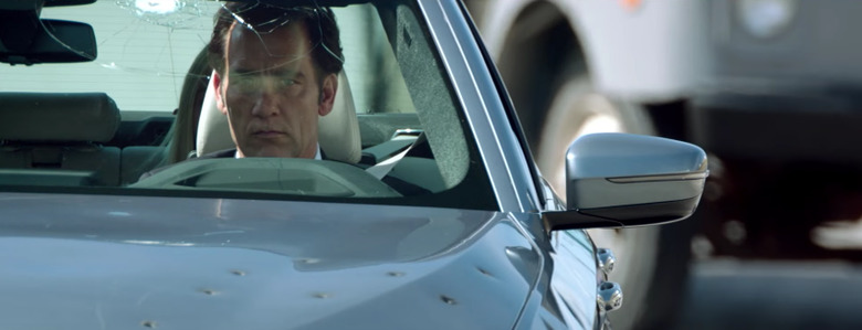 Clive Owen in BMW Films' The Escape short film (The Hire) directed by Neill Blomkamp
