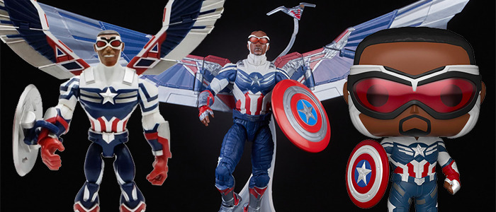 The Falcon and the Winter Soldier - New Captain America Action Figures