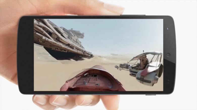 The Force Awakens 360-degree video