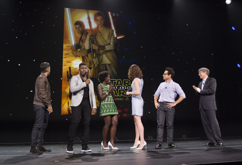 Star Wars: The Force Awakens poster reveal at D23 Expo 2015
