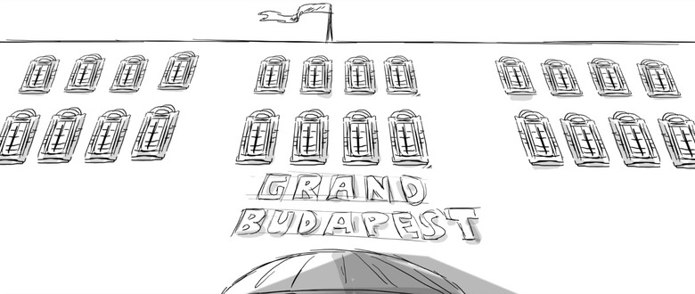 the grand budapest hotel animated