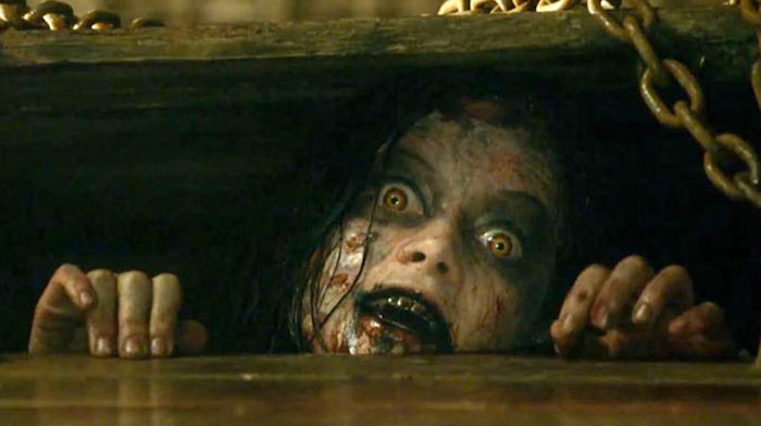 Scariest Scene in the Evil Dead Remake