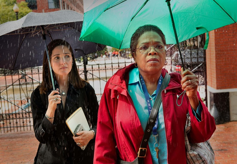 Rose Byrne and Oprah Winfrey in The Immortal Life of Henrietta Lacks